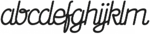 Signist 01 Clean otf (400) Font LOWERCASE