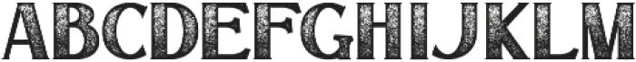 Signist 03 Rough otf (400) Font UPPERCASE