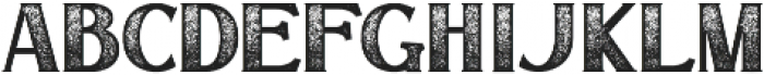 Signist 03 Rough otf (400) Font LOWERCASE