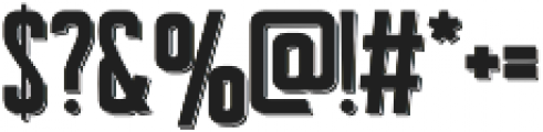 Signist 04 Shadow otf (400) Font OTHER CHARS