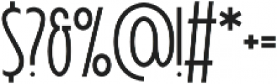Signist 05 Clean otf (400) Font OTHER CHARS
