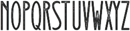 Signist 05 Rough otf (400) Font LOWERCASE