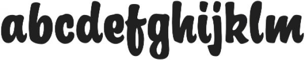 Signorita Normal otf (400) Font LOWERCASE