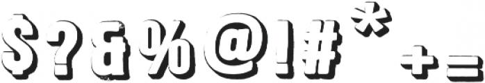 Signwriter Regular otf (400) Font OTHER CHARS