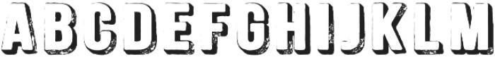 Signwriter Regular otf (400) Font UPPERCASE