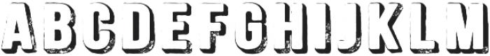 Signwriter Regular otf (400) Font LOWERCASE