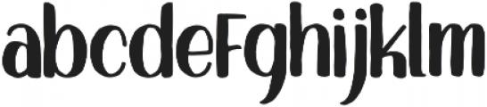 Sigwald otf (400) Font LOWERCASE