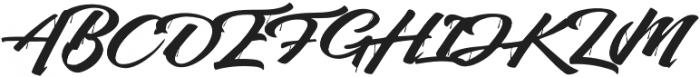 Sihaloho Script otf (400) Font UPPERCASE