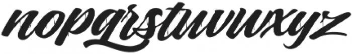 Sihaloho Script otf (400) Font LOWERCASE
