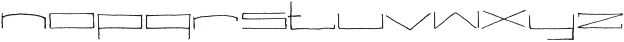 Silent Seas ttf (400) Font LOWERCASE