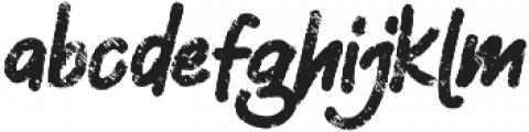 Silent otf (400) Font LOWERCASE
