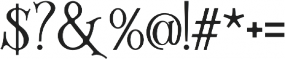 Silenthell otf (400) Font OTHER CHARS