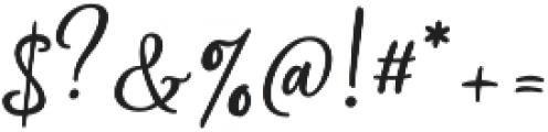 Silentmind otf (400) Font OTHER CHARS