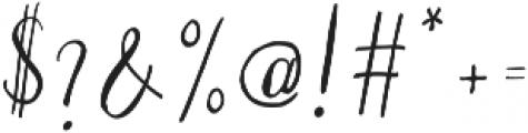 Silex basic otf (400) Font OTHER CHARS