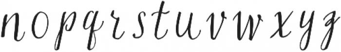 Silex basic otf (400) Font LOWERCASE