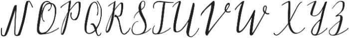 Silex otf (400) Font UPPERCASE