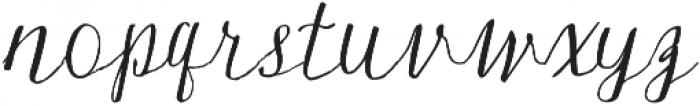 Silex otf (400) Font LOWERCASE