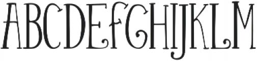 Silhouette otf (400) Font UPPERCASE