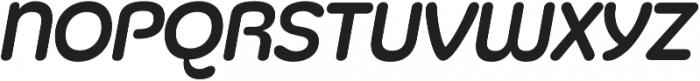 Silicone Italic otf (400) Font LOWERCASE