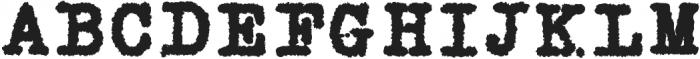 Silk RemingtonBRough otf (400) Font UPPERCASE
