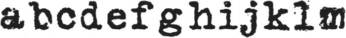 Silk RemingtonSB otf (400) Font LOWERCASE