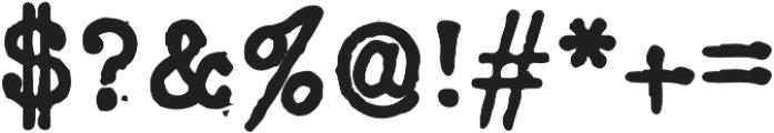 Silk RemingtonSBold otf (700) Font OTHER CHARS