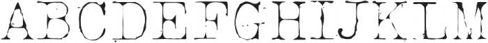 Silk RemingtonThin otf (100) Font UPPERCASE