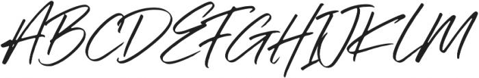 Silli Willinn Regular ttf (400) Font UPPERCASE