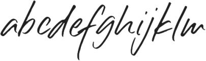 Silli Willinn Regular ttf (400) Font LOWERCASE