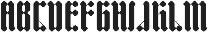 Sillium otf (400) Font UPPERCASE