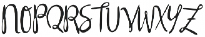 Silly Rabbit otf (400) Font UPPERCASE