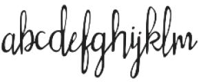 Silly Rabbit otf (400) Font LOWERCASE