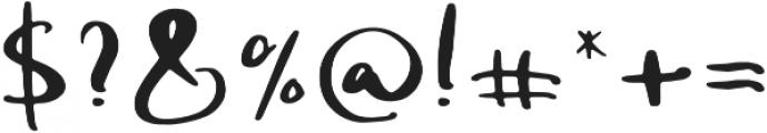 Silona otf (400) Font OTHER CHARS