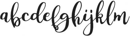 Silona otf (400) Font LOWERCASE