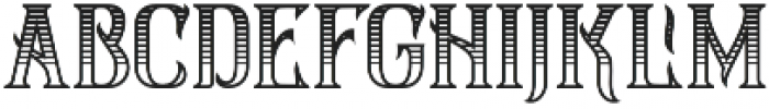 Silver Creek shadows Regular otf (400) Font LOWERCASE