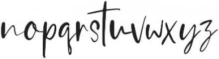 Silver Mind otf (400) Font LOWERCASE