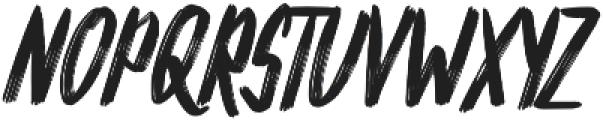 Silver Rayleigh Regular otf (400) Font UPPERCASE