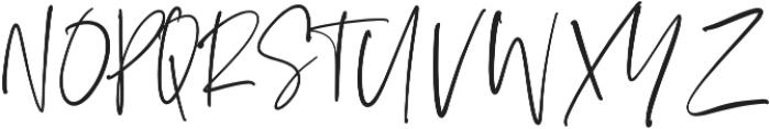 Silver South Script ttf (400) Font UPPERCASE