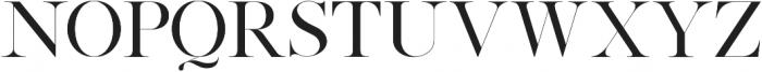 Silver South Serif ttf (400) Font UPPERCASE