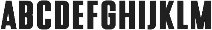 Silverlake Tall Sans otf (400) Font LOWERCASE