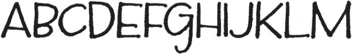 Silverstein Regular otf (400) Font LOWERCASE