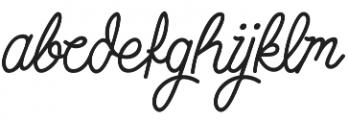 Simbok Pudjie Decorative otf (400) Font LOWERCASE