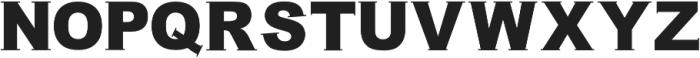 Simple Hamonic Serif otf (400) Font UPPERCASE