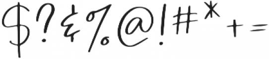 Simple Hamonic otf (400) Font OTHER CHARS