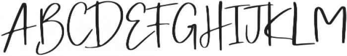 Simple Hamonic otf (400) Font UPPERCASE