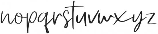 Simple Hamonic otf (400) Font LOWERCASE