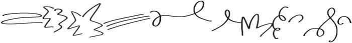 Simple Love Symbols otf (400) Font LOWERCASE