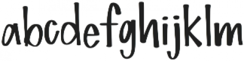 Simple Love otf (400) Font LOWERCASE