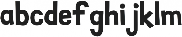 SimpleStamp Regular otf (400) Font LOWERCASE