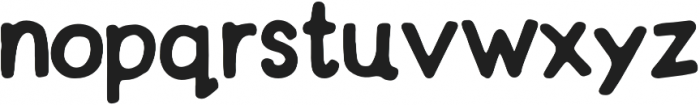 Simpler Times Bold otf (700) Font LOWERCASE